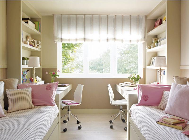 Dormitorios juveniles para mujeres decoracion para - Telas para estores juveniles ...