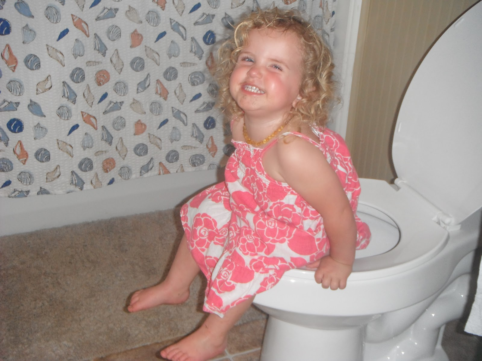 imgsrc little But sometimes you are a proud little girlie on a great big potty!!