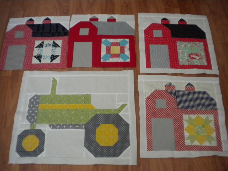 Tractor Sewing Pattern : A little saturday sewing and winners quilting life