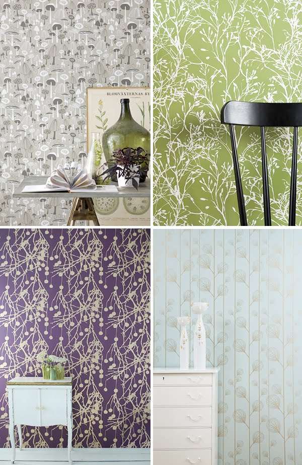 living wallpapers. Ferm Living Wallpapers