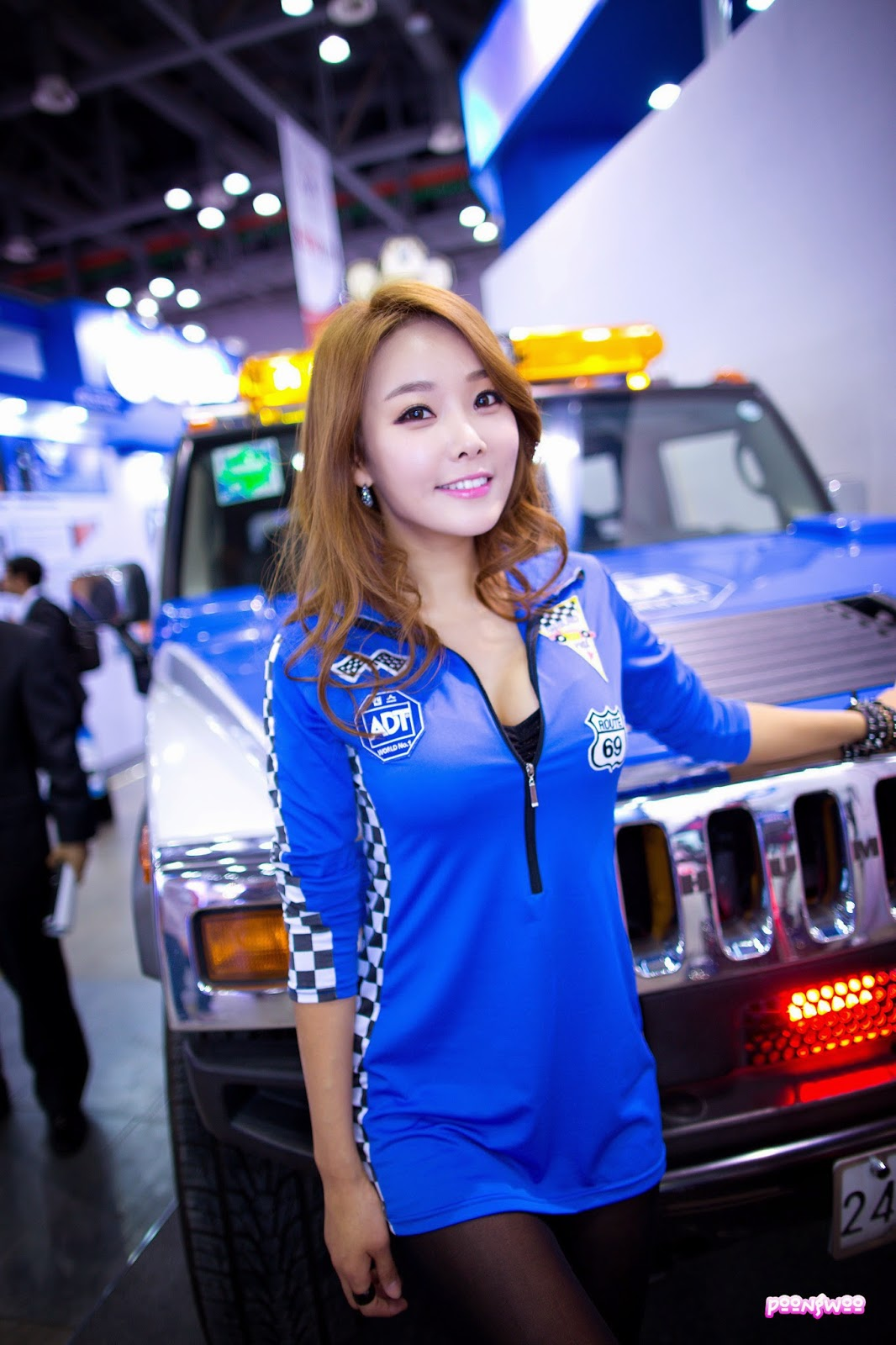 4 Lee Da Hee - World Security Expo - very cute asian girl-girlcute4u.blogspot.com