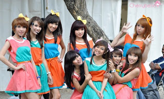 Girl Band Cherry Belle
