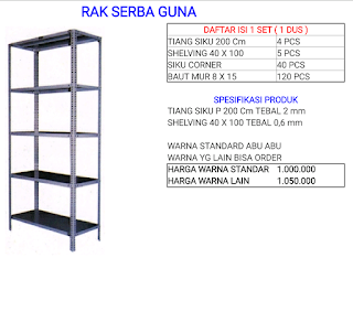 Rak Serbaguna(New product)