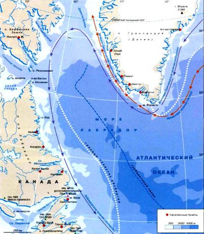 лабрадор фото на карте