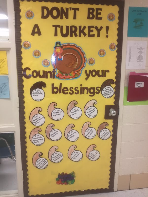 Classroom Decoration Ideas For Thanksgiving ~ Alecia marsh classroom door decoration ideas