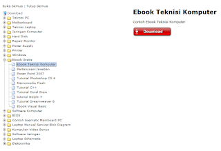 Download Ebook Komputer Gratis Terlengkap | Free Download Ebook Teknisi Komputer Gratis