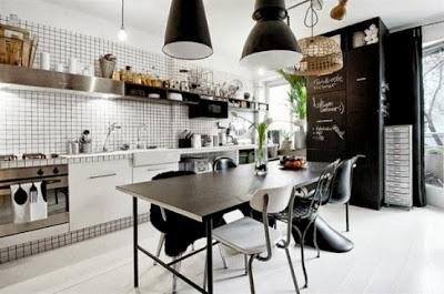 Desain Dapur Maskulin 1