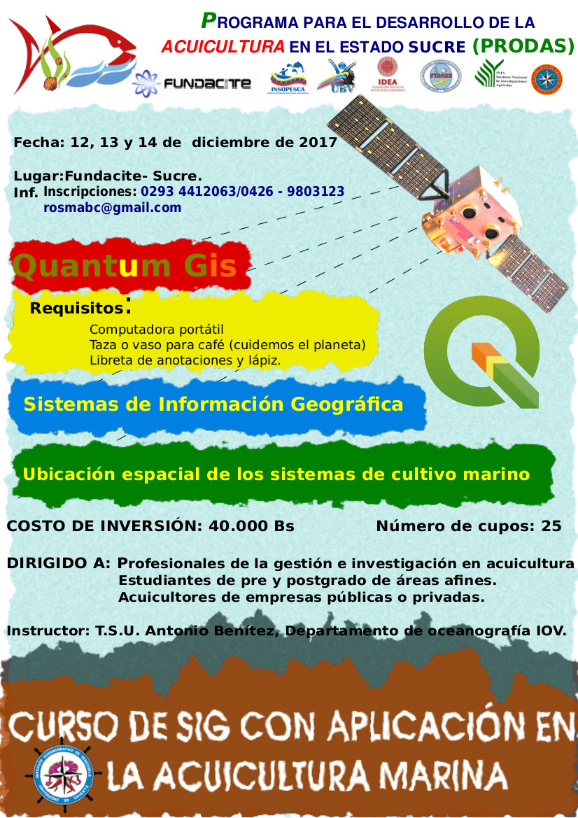 Curso Sistemas de Información Geográfica