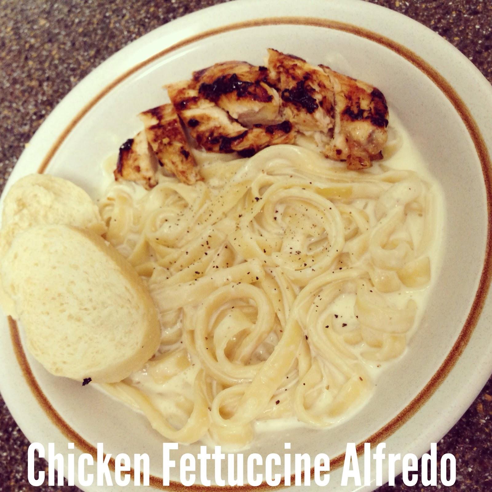 cooking like a newlywed fettuccine alfredo
