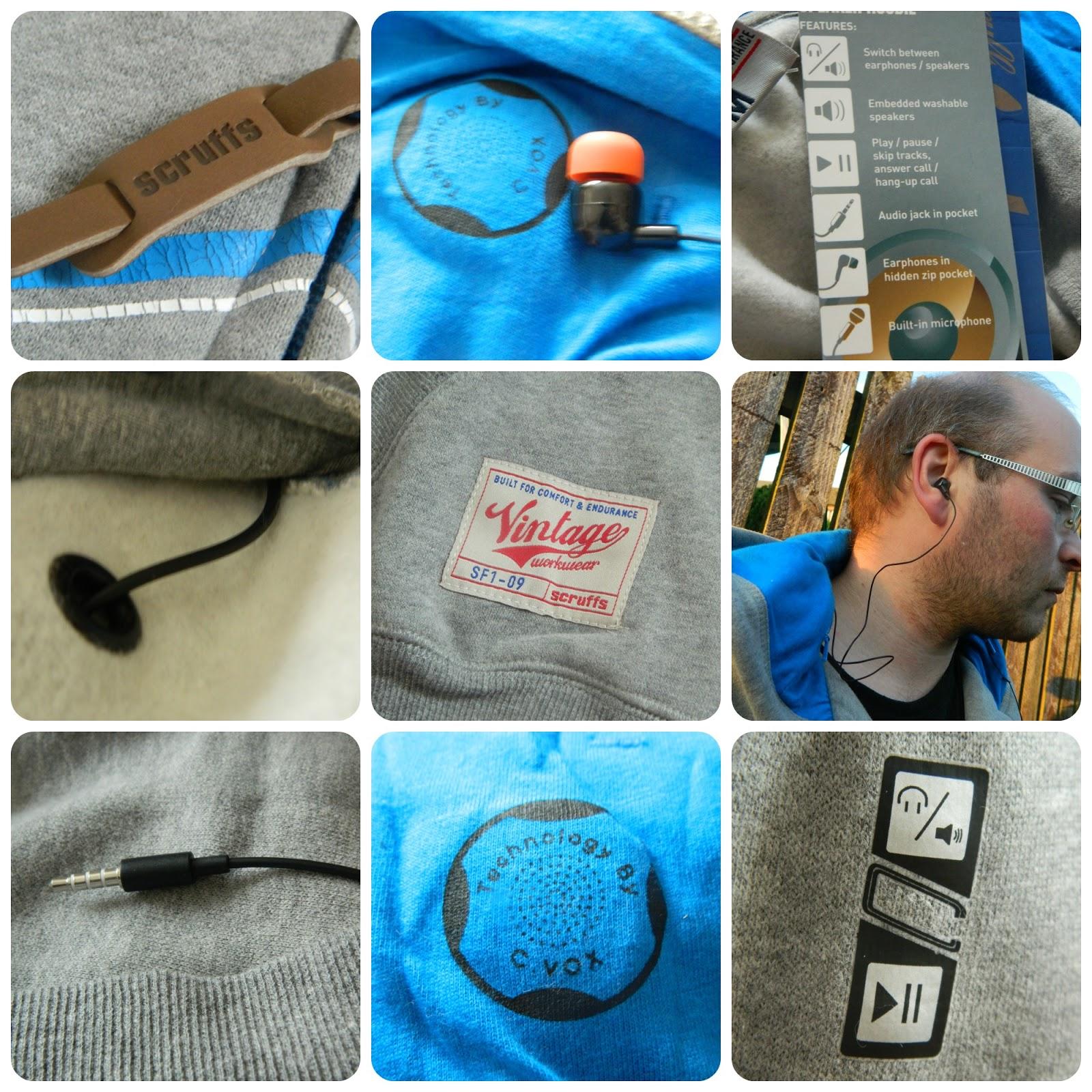 Scruffs Workwear Vintage Speaker Hoodie