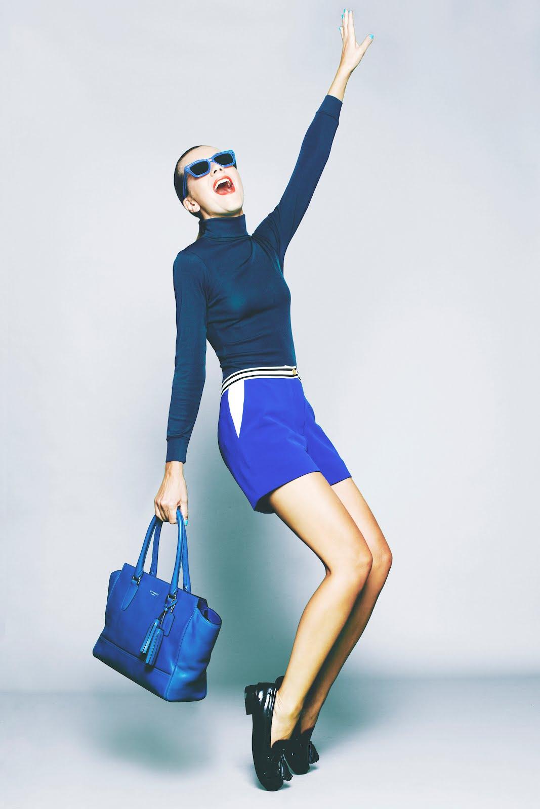 Coach se reinventa y rejuvenece su imagen más actual con su colaboración con la blogger e It Girl Natalie Joos