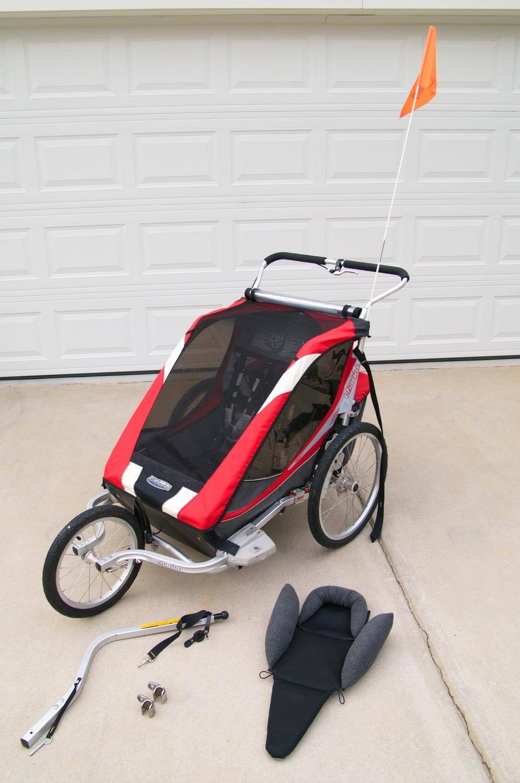 franka henni pierre eva chariot cougar 2 2011 for sale. Black Bedroom Furniture Sets. Home Design Ideas