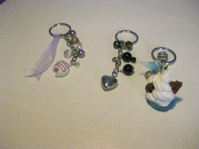 Récznie wykonane przeze mnie breloki, key rings