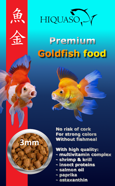 Goldfish food high breeding quality Hiquaso feed