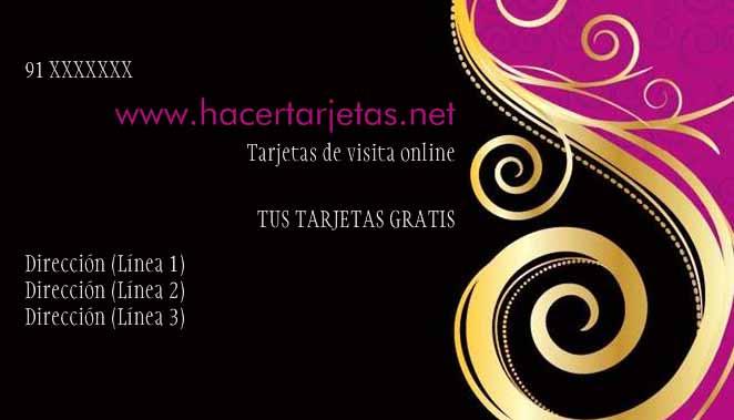 Hacer E Imprimir Tarjetas Online Visita