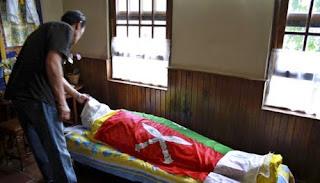 All India Gorkha League (AIGL) chief  Madan Tamang murdered body in darjeeling