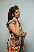 Syamala glamorous photos in saree-thumbnail-10