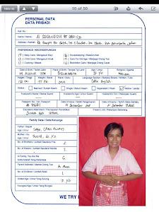 Indonesia Biodata