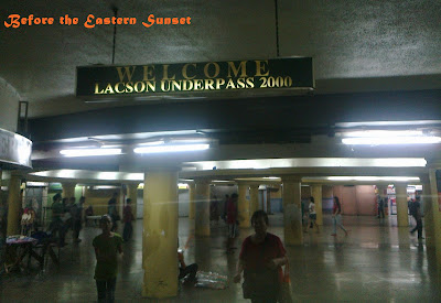 Welcome to Lacson Underpass