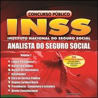 O INSS e o concurso para analista do seguro social.