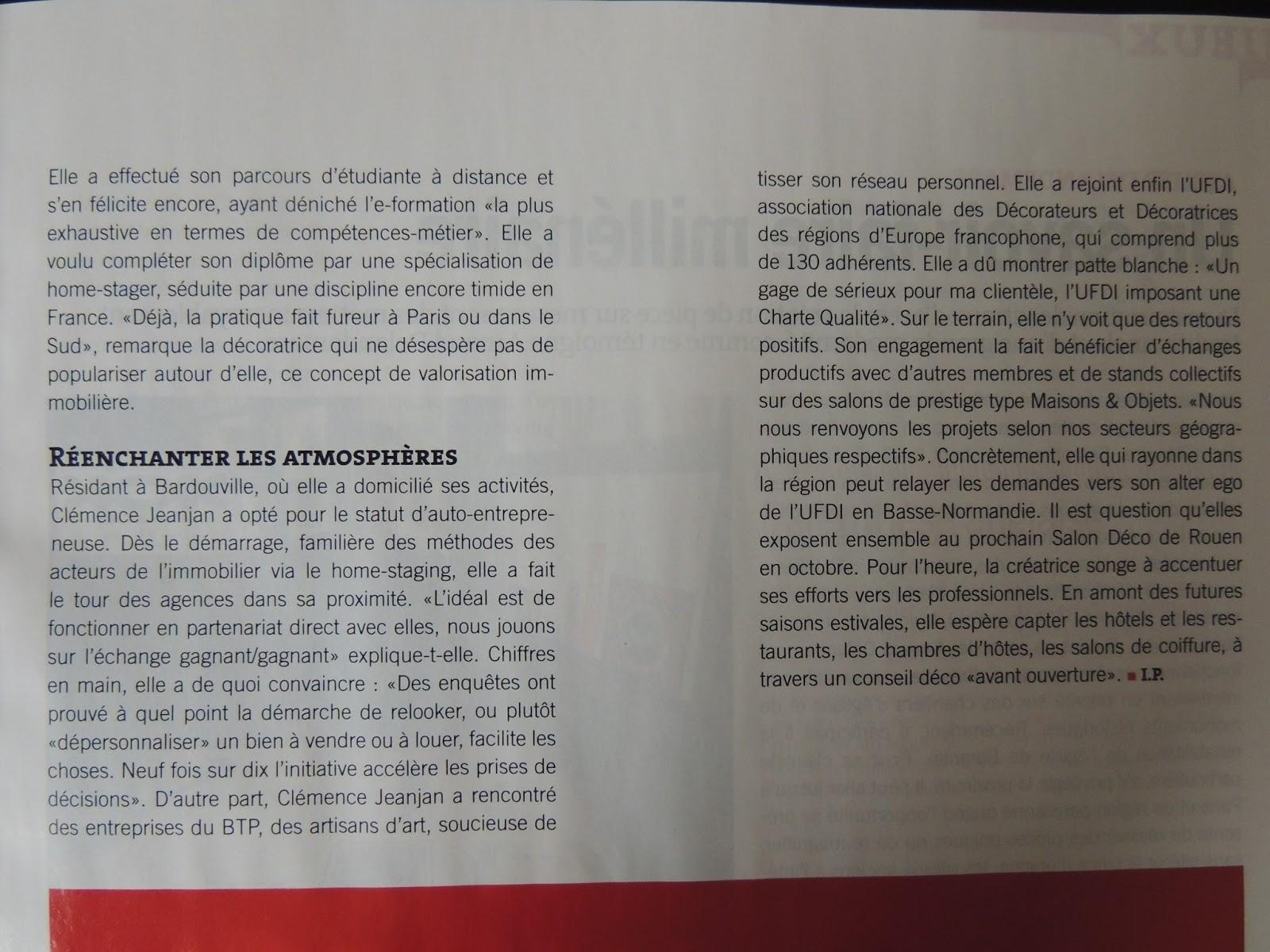 Cl mence d coration id es et astuces d 39 une d coratrice d for Article decoration interieur