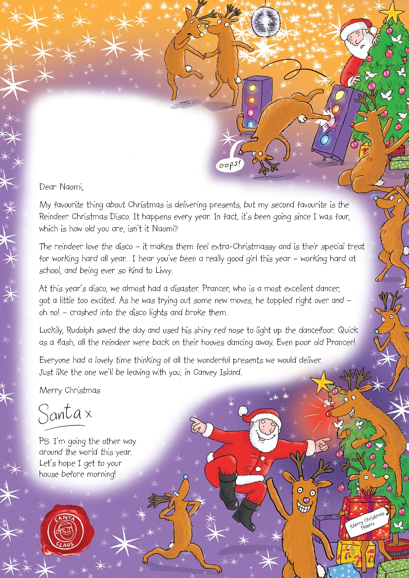 Madhouse Family Reviews: Letter from Santa - make a child's ...