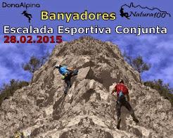 Trobada Escalada Esportiva DonaAlpina-Natura100 a Banyadores