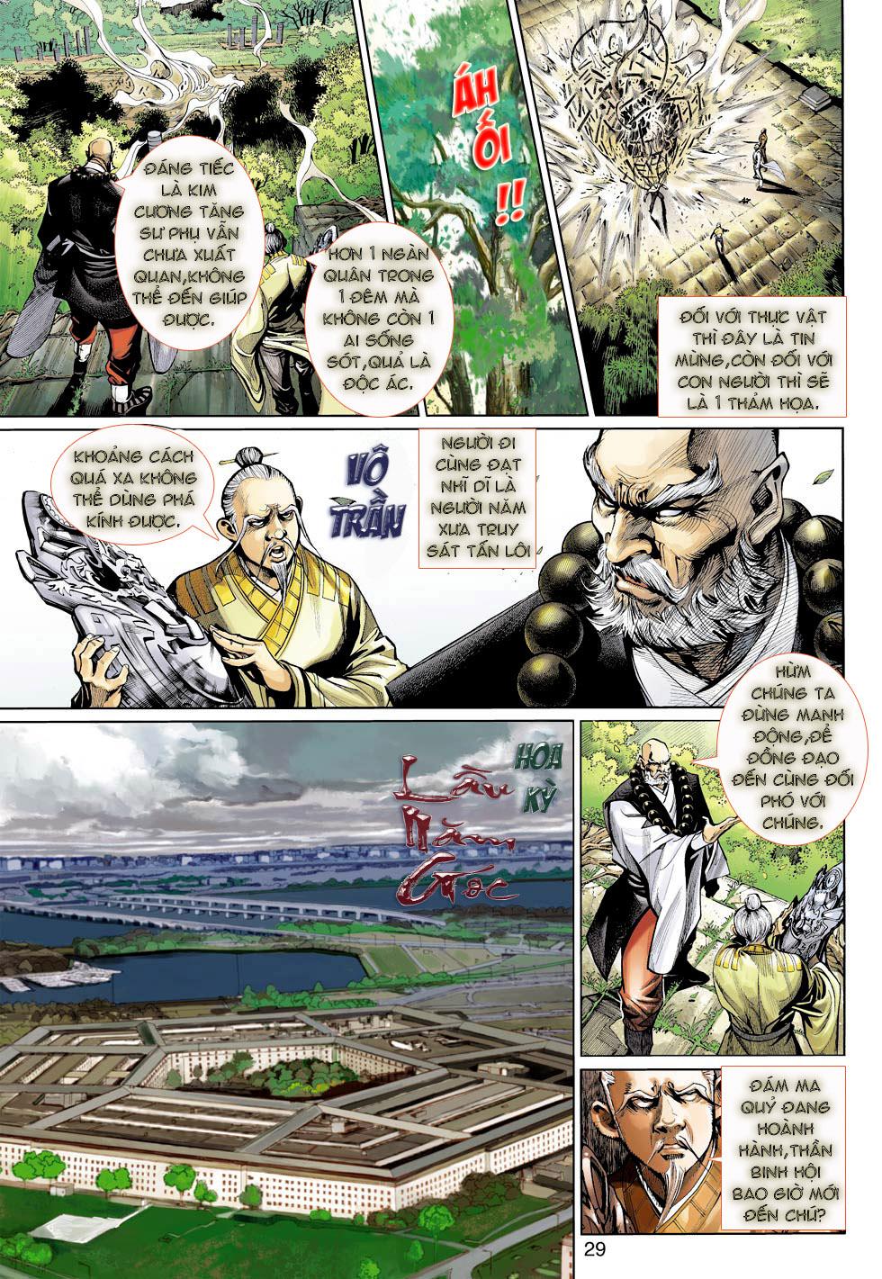 Thần Binh 4 chap 23 - Trang 29