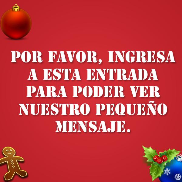 mensaje, navidad