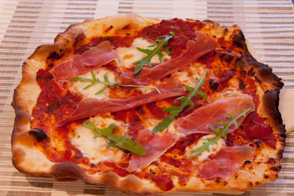italiensk pizza