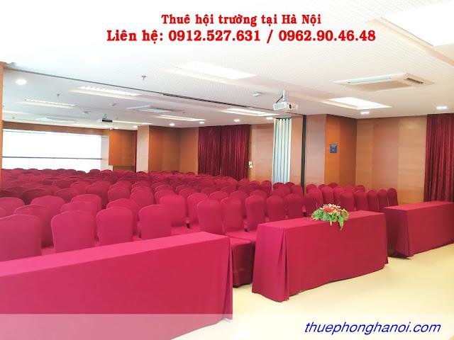 Cho thuê hội trường  200 chỗ tại Hà Nội