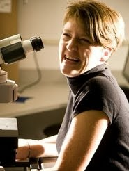 Danish scientist, Malene Hansen <br> at  Sanford-Burnham MRI (San Diego)