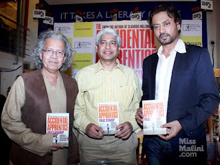 Irfan Khan, Kabir Khan at Vikas Swaroop's  'Accidental Apprentice' Book Launch