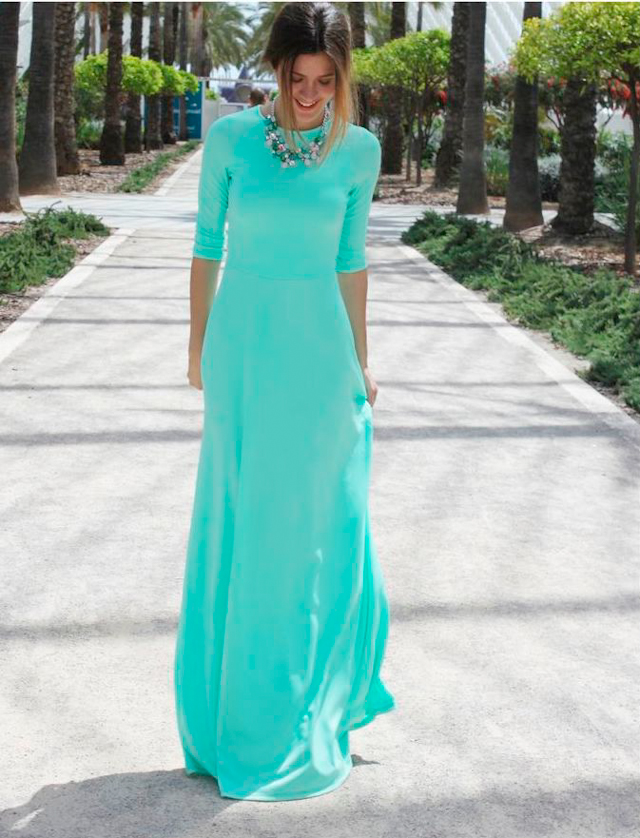 Invitadas elegantes.. y con vestido largo!   A todo Confetti - Blog ...