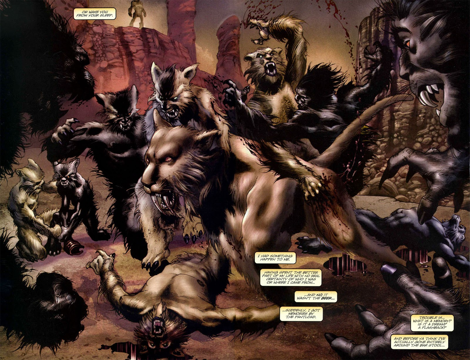 Read online Wolverine (2003) comic -  Issue #50 - 3