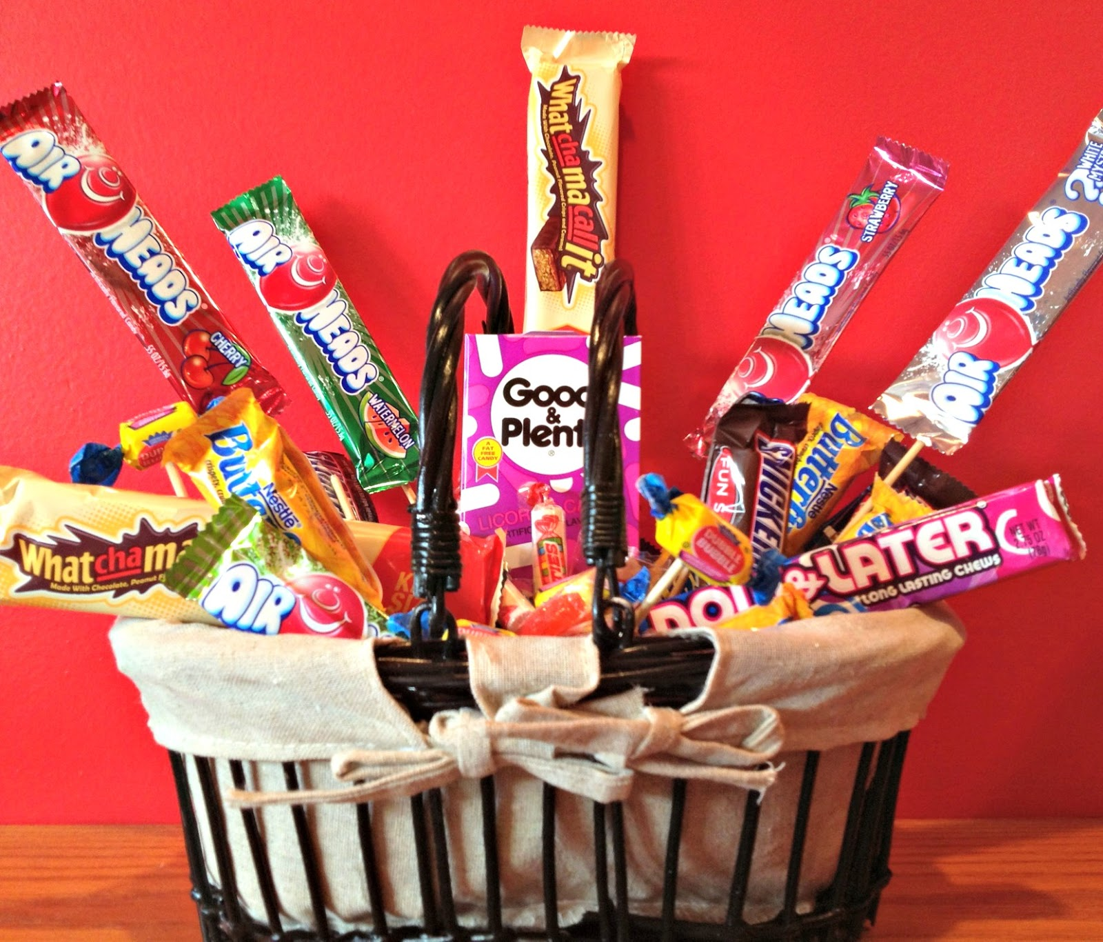 50th Birthday Gift Basket For Men: African Desserts: 50th Birthday Candy Basket And Poem
