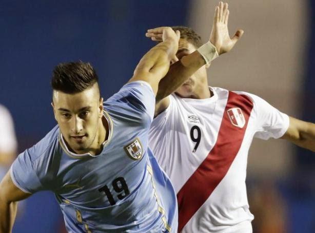 Perú perdió 3-1 ante Uruguay en Sudamericano Sub.20