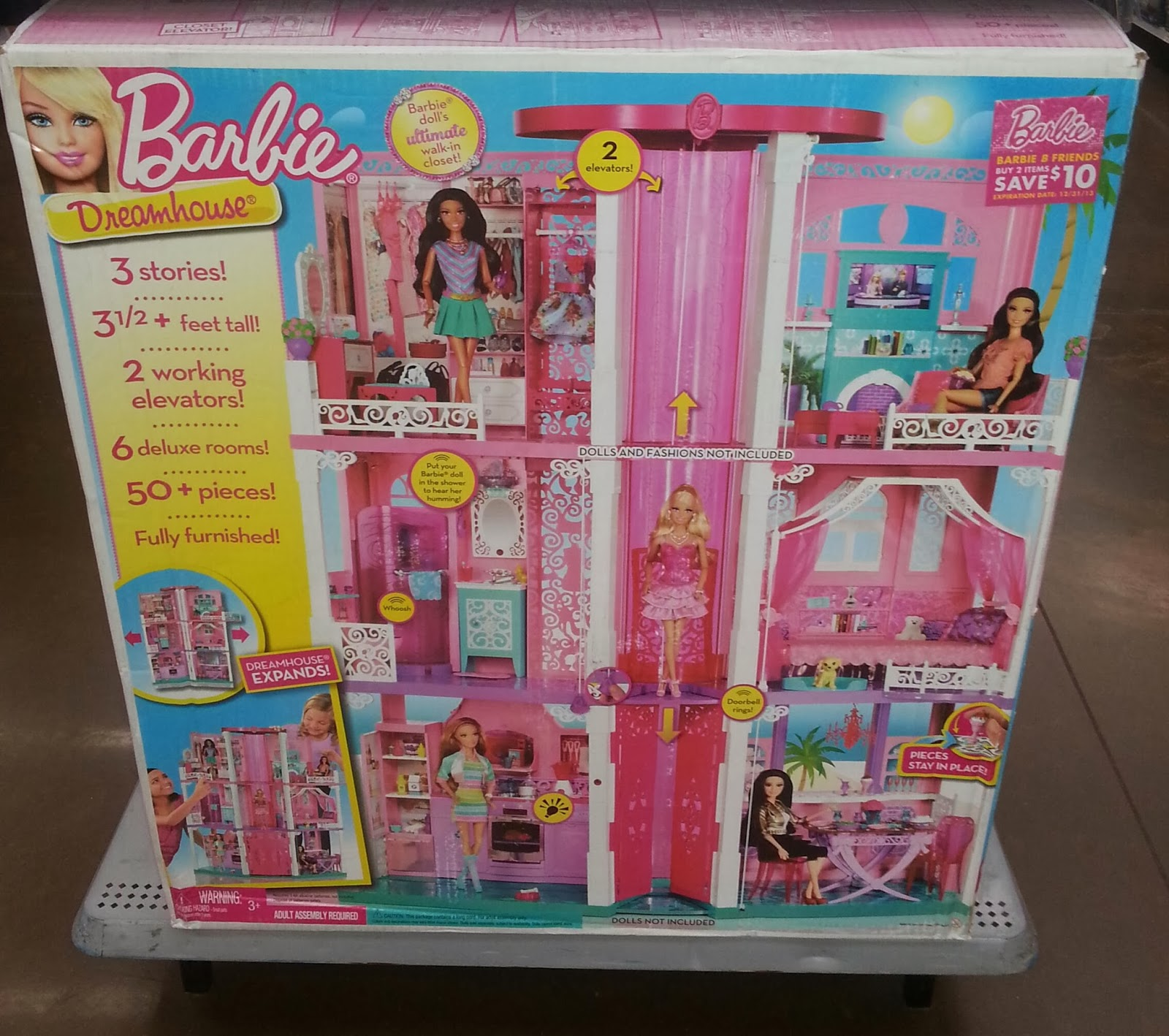 pessoal trouxe para vocês mais uma foto real da Dreamhouse da Barbie  #A48C27 1600x1418 Banheiro Da Barbie Comprar