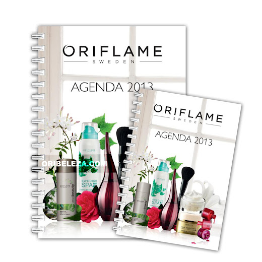 Agendas 2013 da Oriflame