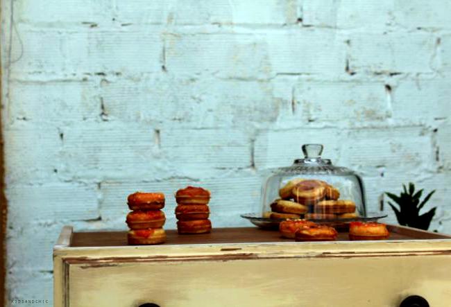 mini donuts de zanahoria kidsandchic