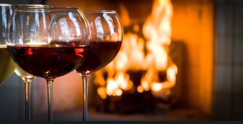 استرجاع الذكريات الجميلة...يجعلك تشعر بالدفء فى البرد - مدفأة حطب نار رومانسية - cape-romance - love romantic fireplace