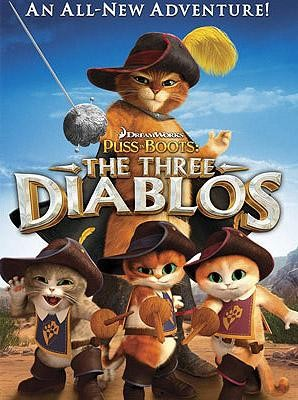 El gato con botas: Los tres diablos (2012)