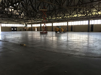 Stripping of Arena Has Begun.