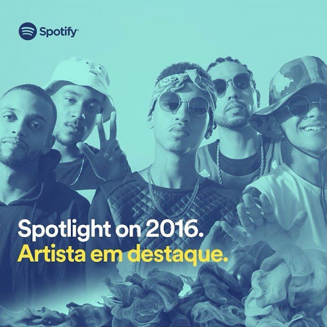5 pra 1 esta no Playlist de apostas para 2016 do site Spotify