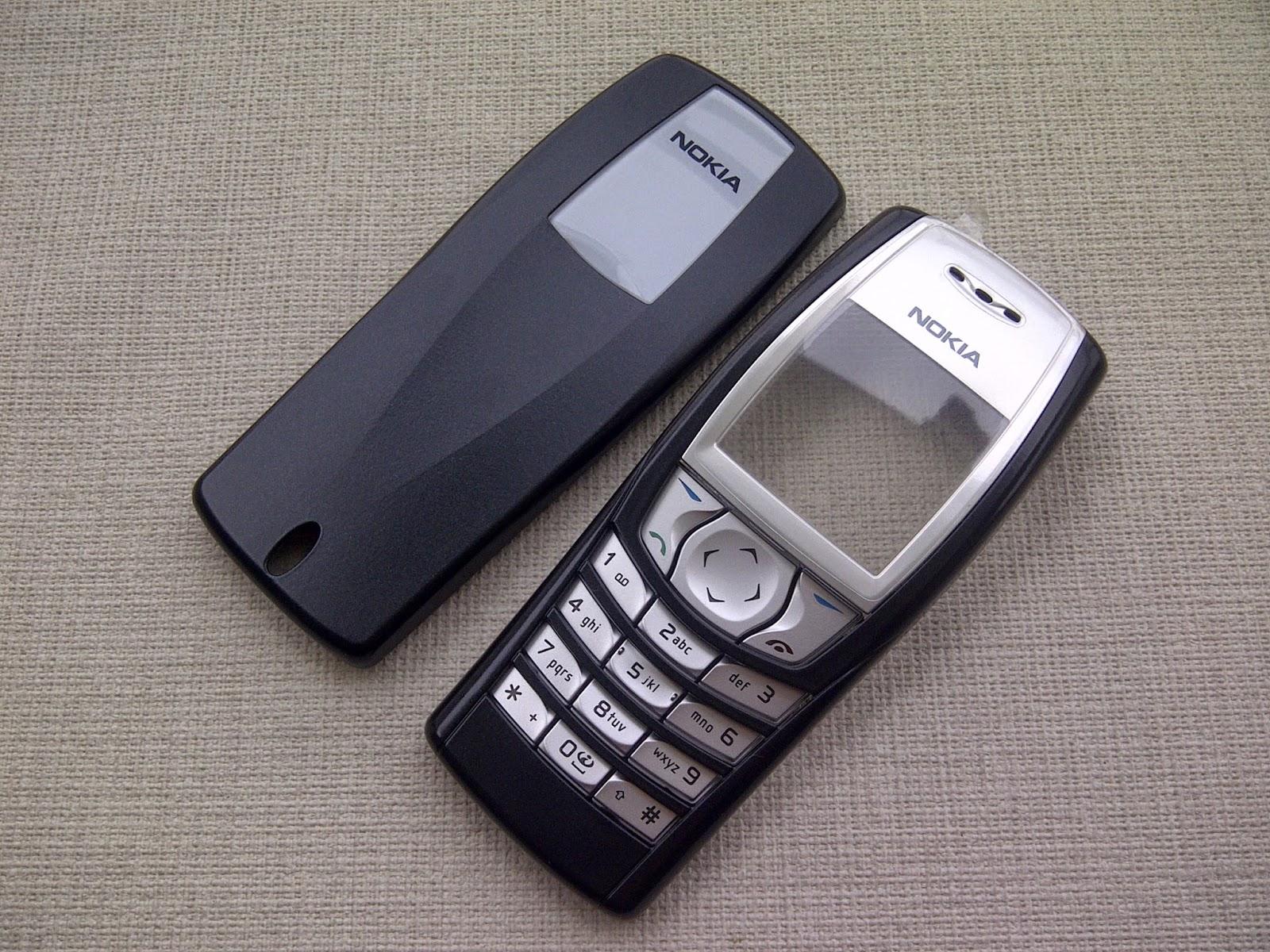 menjual casing handphone tipe lama rare item: nokia 6610