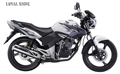 Honda Tiger 2012 Loyal White