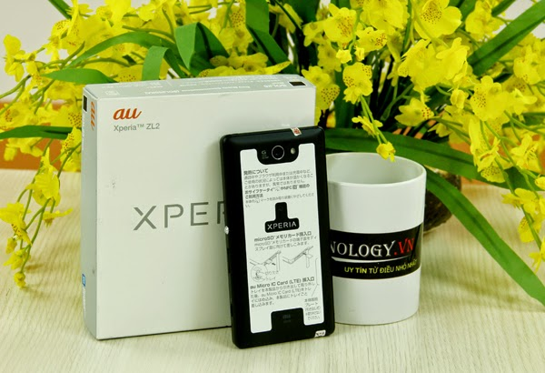 Cách chọn mua và test Sony Xperia ZL2 Au Nhật Bản