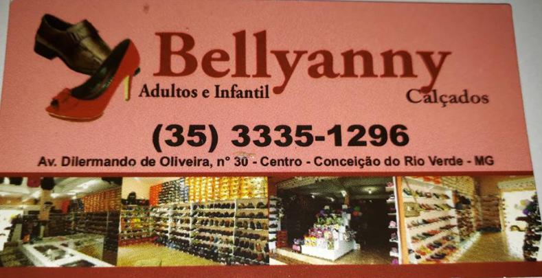 BELLYANNY CALÇADOS DE CONCEIÇÃO DO RIO VERDE, DESTAQUE SEMPRE.