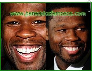 50 Cent  antes y después