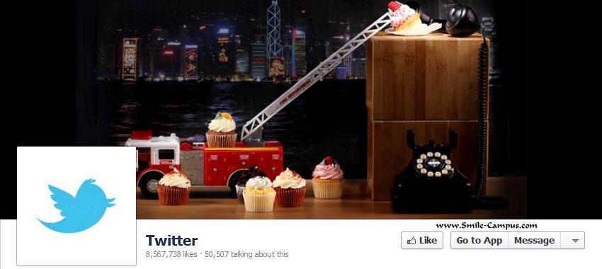 Twitter.com Facebook Timeline Page
